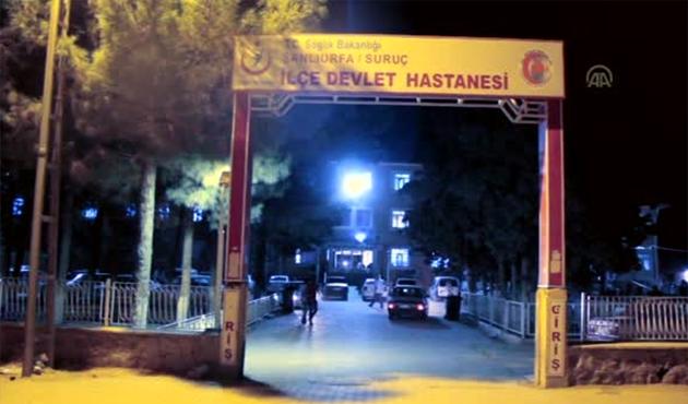 Suruç'ta Özel Harekat Müdürü yaralandı