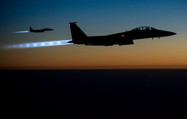 Kobani'de IŞİD hedefleri vuruldu