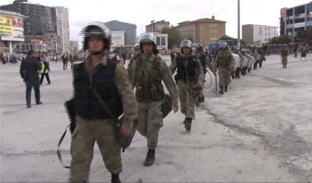 Asker, İstanbul'da da devreye girdi
