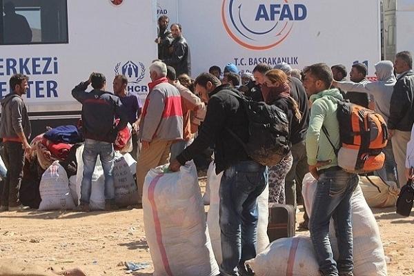 Türkiye'den Kobani'ye 634 araçlık yardım