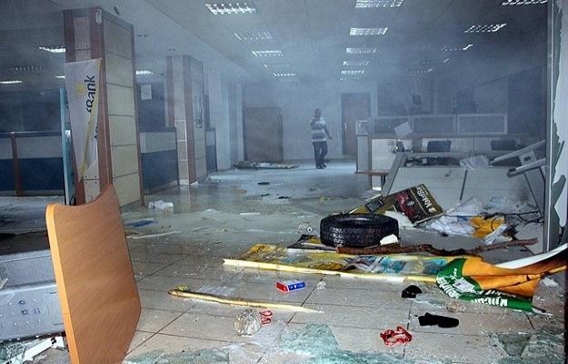 Mardin'de son 3 günde 14 banka yakıldı