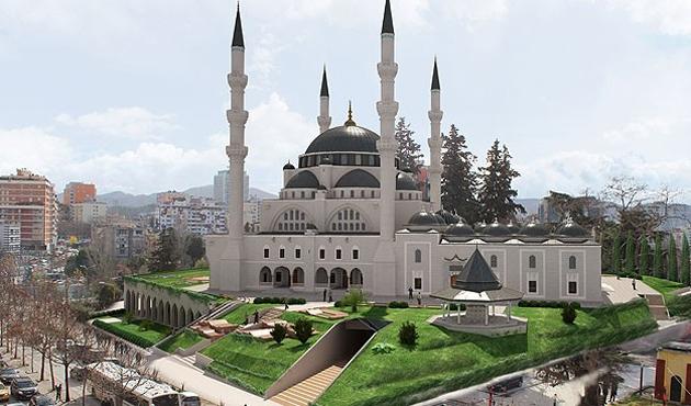 Tiran'a Balkanların en büyük camisi yapılacak