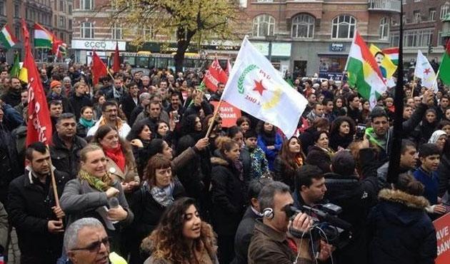 Birçok ülkede Kobani için eylem yapıldı