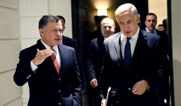 Netanyahu, Ürdün Kralı Abdullah'ı aradı