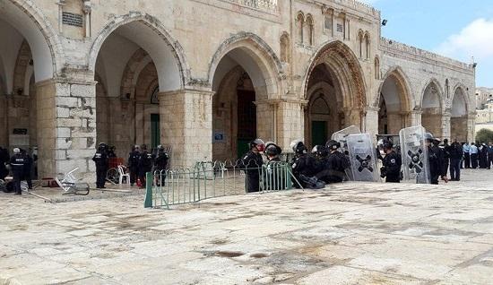 CHP Mescid-i Aksa saldırısını kınadı