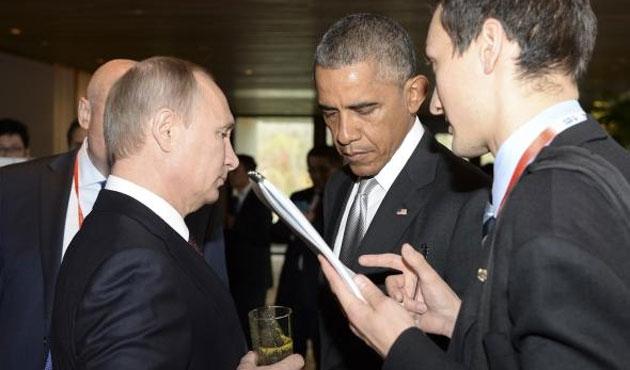 Obama ile Putin APEC'te ayaküstü görüştü