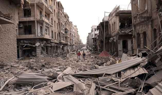 İtalyan gazeteci: 'Artık Halep diye bir şehir, Suriye diye bir ülke yok'