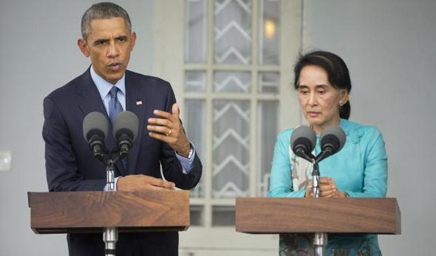 Obama'nın Myanmar uyarıları sürüyor