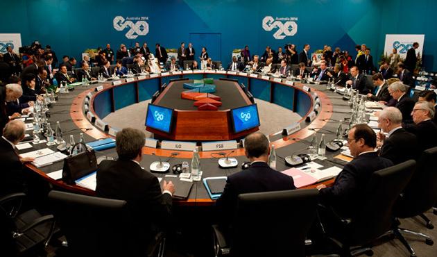 G20 zirvesinin gündemi belli oldu