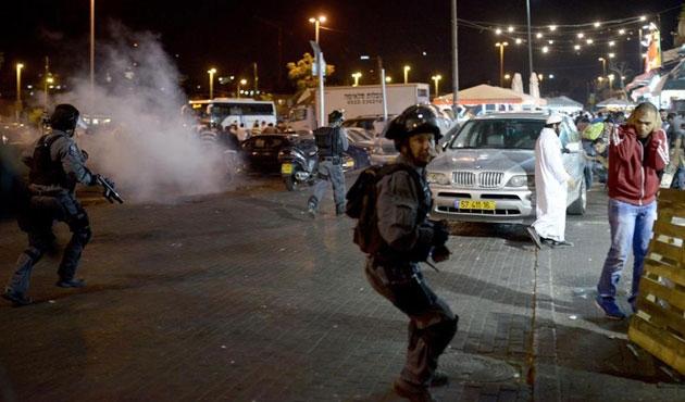 Filistin'in Nablus kentinde gerginlik