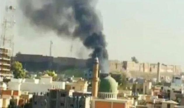 Erbil'de valilik önünde patlama, ölü ve yaralılar var