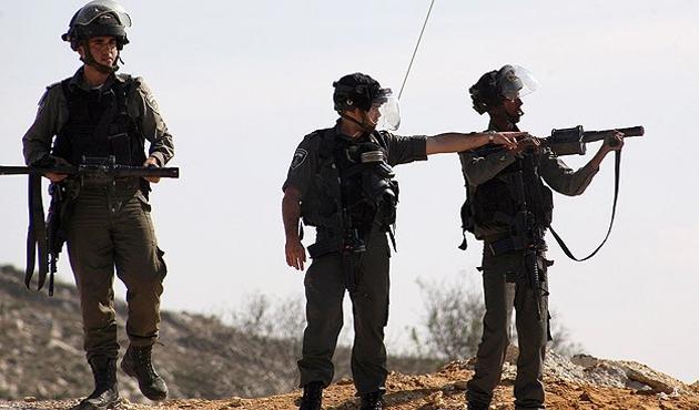 İsrail'den Filistinli göstericilere müdahale; 8 yaralı