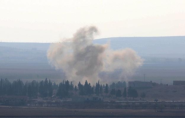 ABD Kobani'de bugün de IŞİD'i bombaladı