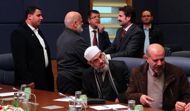 Filistin Meclis Başkanvekili Bahr TBMM'de