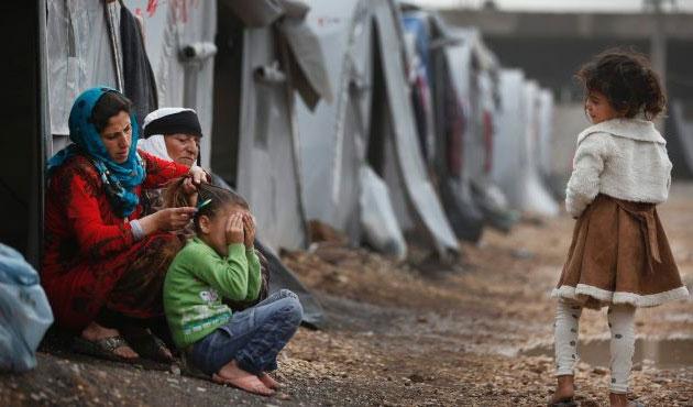 12,2 milyon Suriyeli yardıma muhtaç