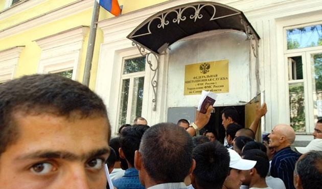 Rusya ve Özbekistan arasında göçmen işçi anlaşması