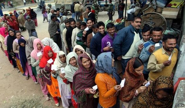 Keşmir'de seçimin galibi Müslümanlar