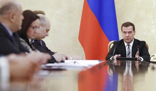 Medvedev'den projeleri durdurma talimatı