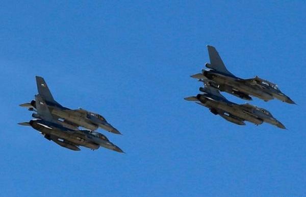 Koalisyon güçleri 14 hava saldırısı düzenledi