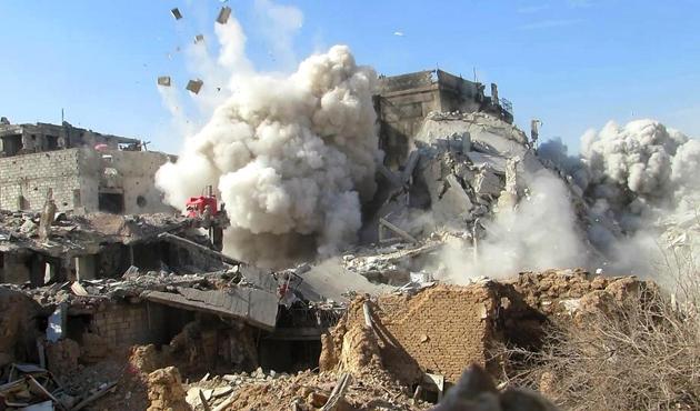 Şam'da Suriye ordusuna ağır zayiat