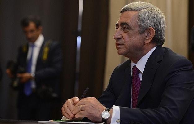 Sarkisyan'dan Türkiye'ye 'Karabağ' uyarısı