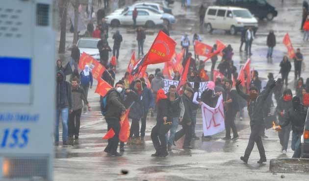 Ankara'da 'Berkin Elvan' gerginliği; 11 gözaltı