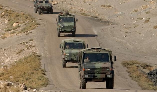 Elazığ'da askeri konvoya saldırı