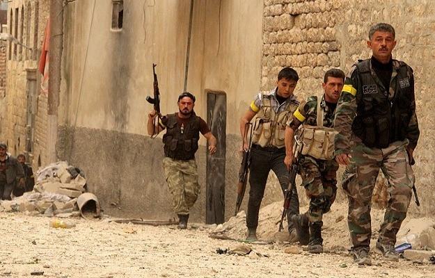 Halep'in kuzeyinde ÖSO'ya saldırı