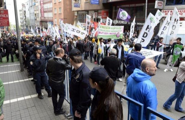 Taksim'den Aksaray'a yürüyüş planı