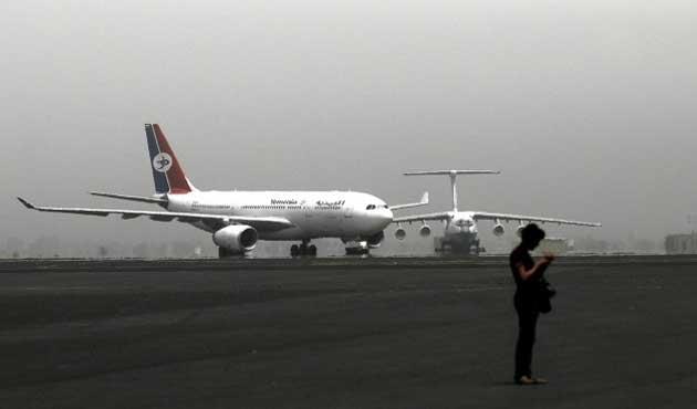 Yemen'de 4 ay sonra ilk uluslararası uçuş
