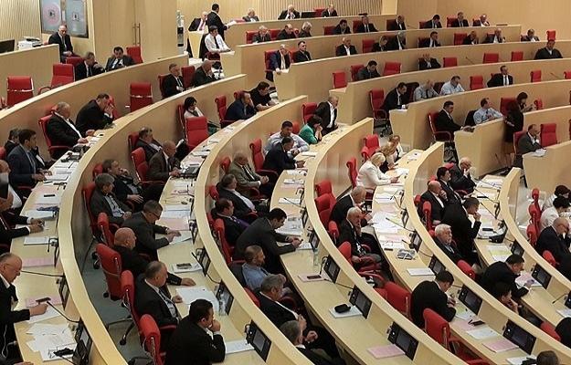 Gürcistan'da yeni parlamento toplandı