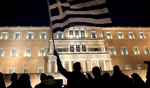 Yunanistan'da 'özelleştirme' protestosu