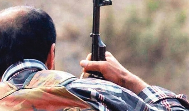 Güvenlik kaynakları: Bitlis'te 1 korucu şehit