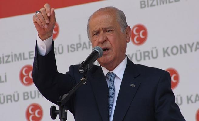 Bahçeli'den CHP'ye HDP özentisi uyarısı