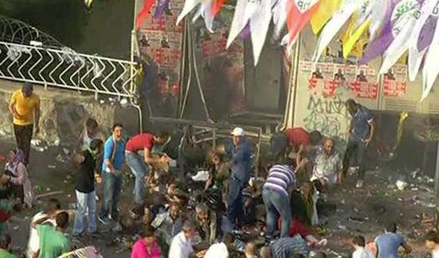 HDP mitingine saldırı davası Ankara'ya nakledildi