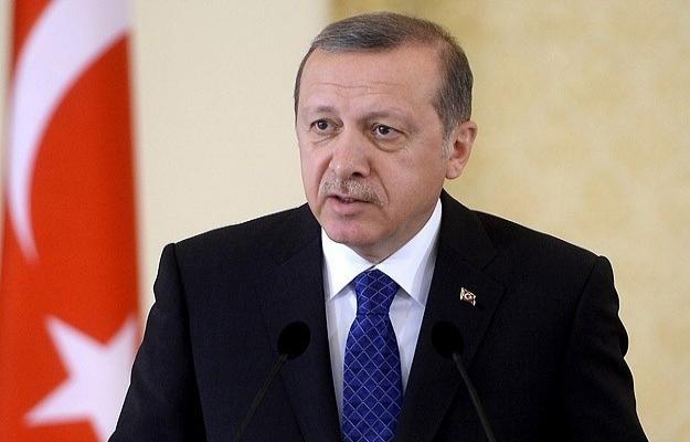 Erdoğan'dan 'Sırtımızı YPG'ye yaslıyoruz' sözlerine tepki