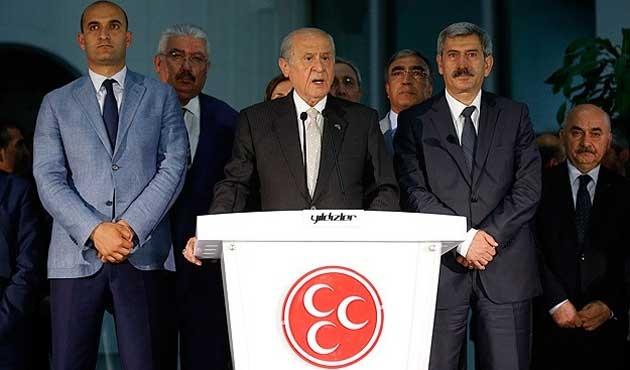 MHP erken seçim hazırlıklarına başladı