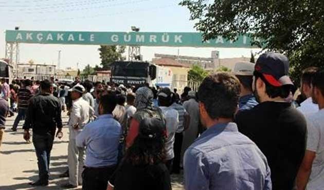 Tel Abyad'dan atılan kurşun Akçakale'ye isabet etti