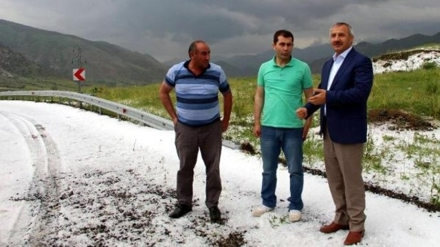 Doğu Anadolu'da sağanak ve dolu uyarısı