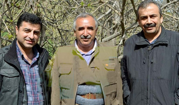 'Adres Öcalan'dır diyen Demirtaş'a PKK'dan itiraz