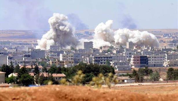 YPG Kobani'de IŞİD üssünü patlattı