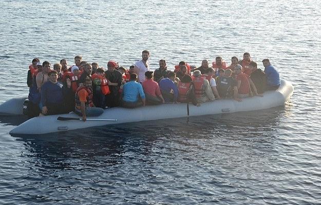 Ege'de 120 göçmen yakalandı