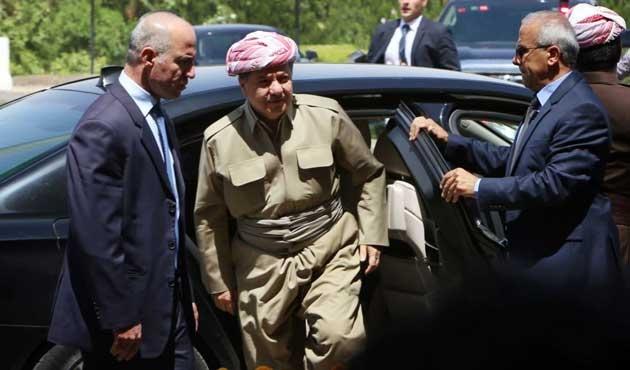 Barzani'den siyasi partilere uyarı