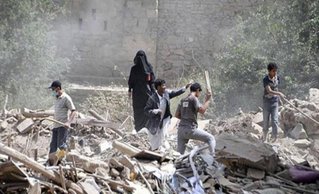 Yemen'de Husilere bombalı saldırı