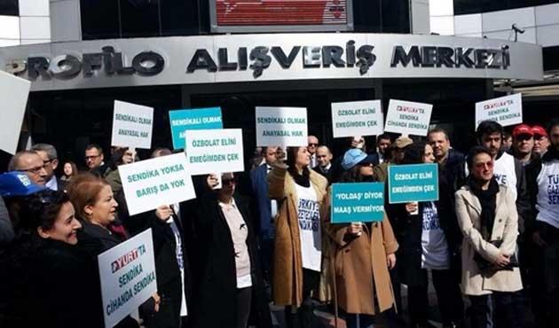 Yurt Gazetesi çalışanları greve gitti