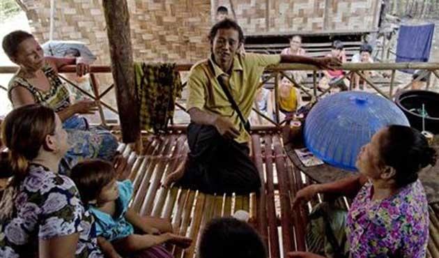 Köle olarak çalıştırılan Myanmarlı, 22 yıl sonra özgür