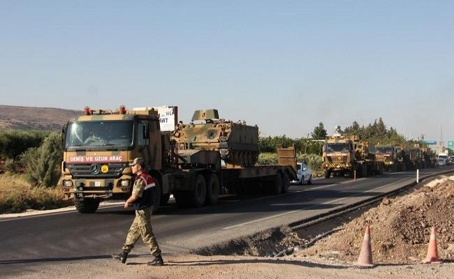Suriye sınırında IŞİD ve PYD teyakkuzu