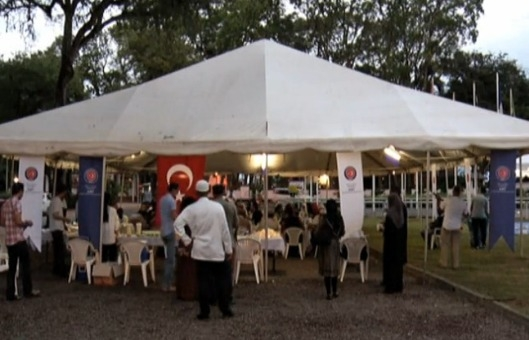 Surinam devlet başkanlığında ilk iftar