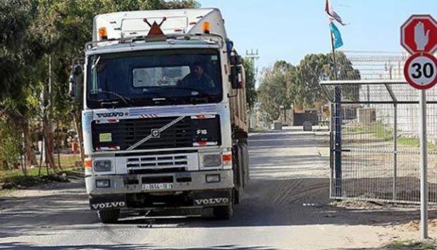 Gazze'ye 600 kamyon giriyor
