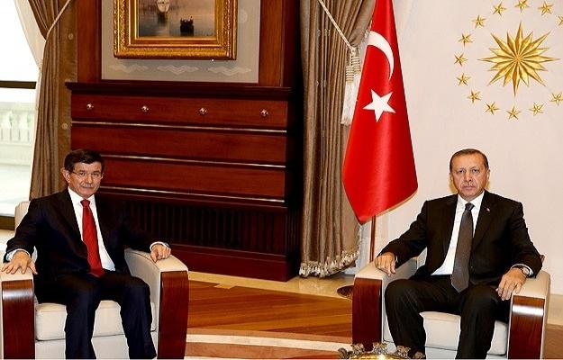 Erdoğan, Başbakan Davutoğlu'nu kabul etti